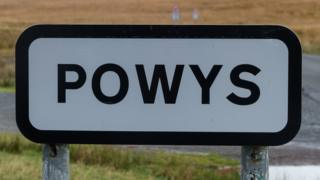 Picture of Powys sign