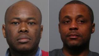 Martin Okoko (left) Wilson Odume (right)