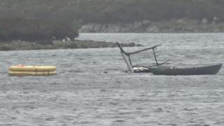 North Uist helicopter crash