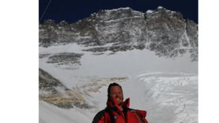 'Climbing Everest became my reason to live'