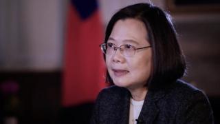 在剛結束的2020年台灣大選中贏得連任的總統蔡英文接受BBC專訪,就此次大選和兩岸關係等議題表達看法。