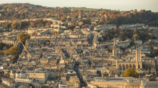Vista of Bath