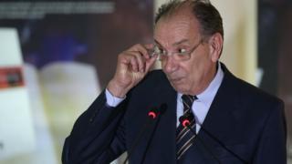 Ministro das Relações Exteriores, Aloysio Nunes Ferreira, durante inauguração da exposição Palavras Sem Fronteiras, no Palácio Itamaraty em 2017