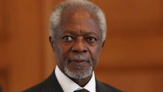 Kofi Annan a été le premier Africain à diriger les Nations unies.