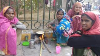 गरीब, बेघर महिलाएं