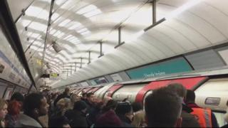 Tube overcrowding at Seven Sisters