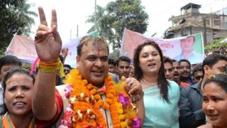 Himanta Biswa Sarma is Assam state's health minister