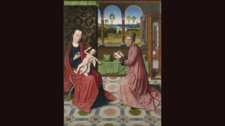 St Luke Drawing the Virgin and Child