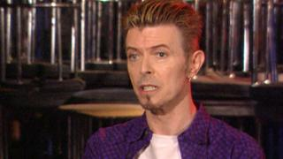 David Bowie talking to the BBC at Rock City in 1997
