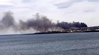 , Major fire in Macduff being treated as suspicious
