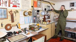 Nuclear bunker shed