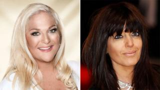 Vanessa Feltz and Claudia Winkleman