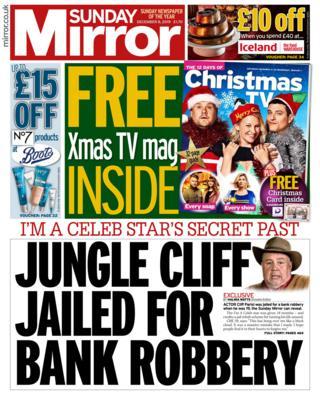 Sunday Mirror 8 December 2019