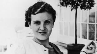 A picture of Eva Braun, thought to be taken in the 1930s