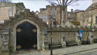 Outside of Stanhope Castle School