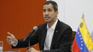Venezuela's self-proclaimed interim president Juan Guaidó