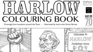 Colouring Book of Harlow