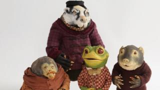 The Wind in the Willows figures