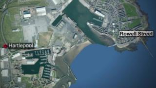 Map of Hartlepool