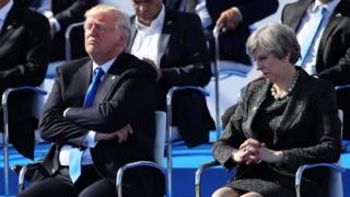 Donald Trump và Theresa May