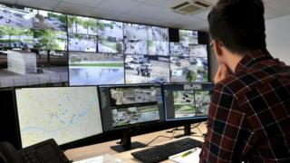 Urban surveillance unit in Nantes, France, 2018 file pic