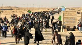 عکس آرشیوی از زائران ایرانی در عراق