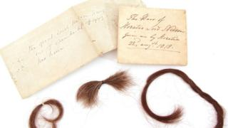 Lord Nelson's hair