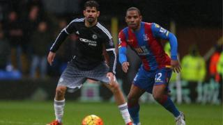 Diego Costa and Jason Puncheon
