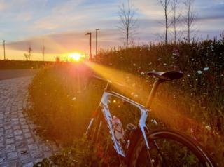 Newtonhill/Aberdeen sunrise bike ride