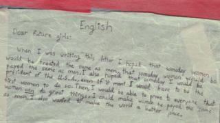 ایک پر امید نو سالہ لڑکی کا خط
