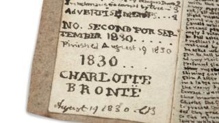 Charlotte Bronte little book