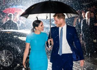 in_pictures Prince Harry and Meghan attend The Endeavour Fund Awards at Mansion House