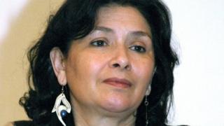 Sihem Bensedrine, la présidente de l'IVD, l'organe public chargé d'auditionner les victimes présumées du régime de Ben Ali.