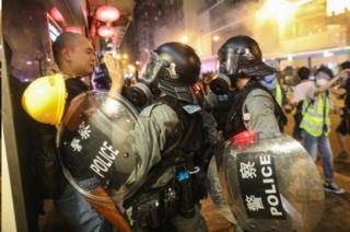 اعتراضات در هنگ کنک