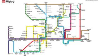 map metro
