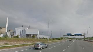 The A1(M) at Ferrybridge