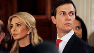 Ivanka Tump dan suaminya Jared Kushner.