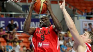 Angola Basketball Men's team na one of di contenders for