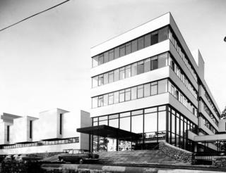BBC Llandaff on its opening day on 1 March 1967