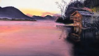 in_pictures Dreamy Duke of Portland Boathouse, Ullswater in pastels