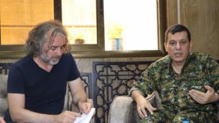 Fehim Taştekin ve Mazlum Kobani