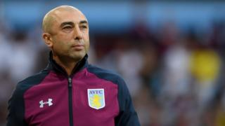 Di Matteo says goodbye to Villa