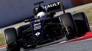 Renault Formula One car