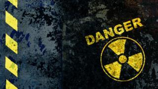 Señal de peligro nuclear