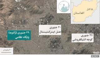 سه حمله که در ده روز گذشته در کابل روی داد