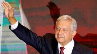 Andrés Manuel López Obrador es el presidente electo de México.