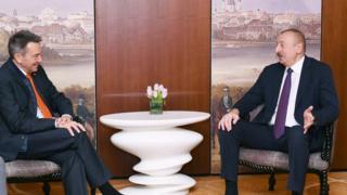 İlham Əliyev və Peter Maurer