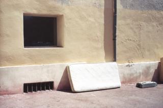 Abandoned matress