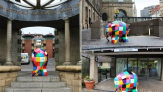 Elmer sculptures