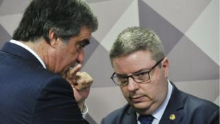 Cardozo e Anastia conversam na Comissão Especial de Impeachment do Senado